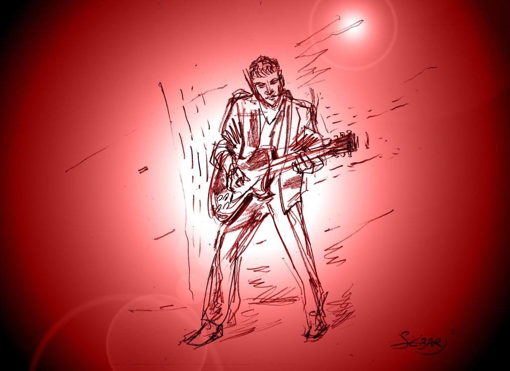Christian Brun Guitariste-Sebastien Armand Luce-Croq'Sebar